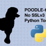 POODLE-taming: No SSLv3 in Python Tornado