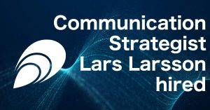 Communication Strategist Lars Larsson hired
