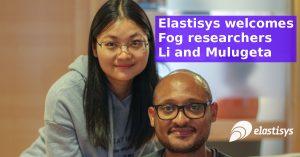 Elastisys welcomes Fog researchers Li and Mulugeta!