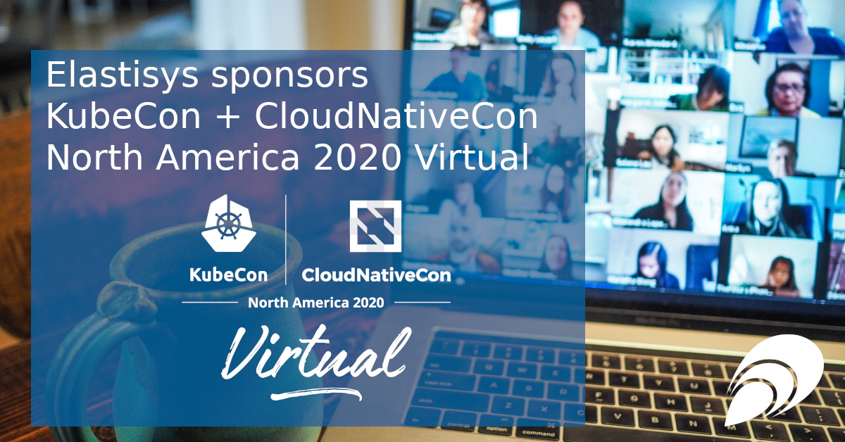 Elastisys sponsors KubeCon + CloudNativeCon North America 2020 Virtual