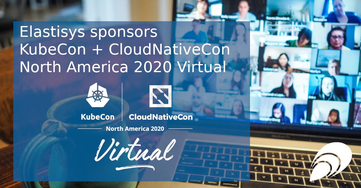 Elastisys sponsors KubeCon + CloudNativeCon North America 2020 Virtual